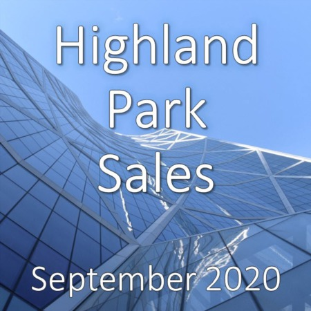 Highland Park Housing Market Update September 2020