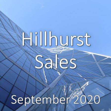 Hillhurst Housing Market Update September 2020