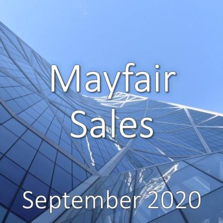 Mayfair Housing Market Update September 2020