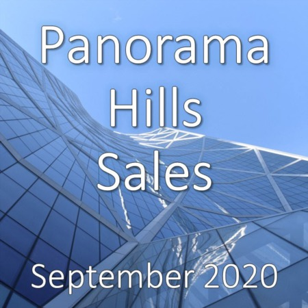 Panorama Hills Housing Market Update September 2020