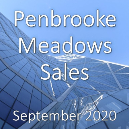 Penbrooke Meadows Housing Market Update September 2020