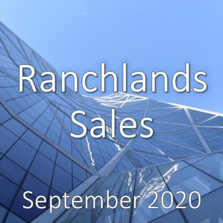 Ranchlands Housing Market Update September 2020