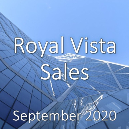 Royal Vista Housing Market Update September 2020
