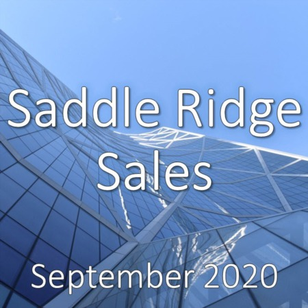 Saddle Ridge Housing Market Update September 2020