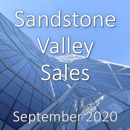 Sandstone Valley Housing Market Update September 2020