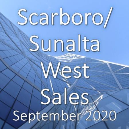 Scarboro/Sunalta West Housing Market Update September 2020