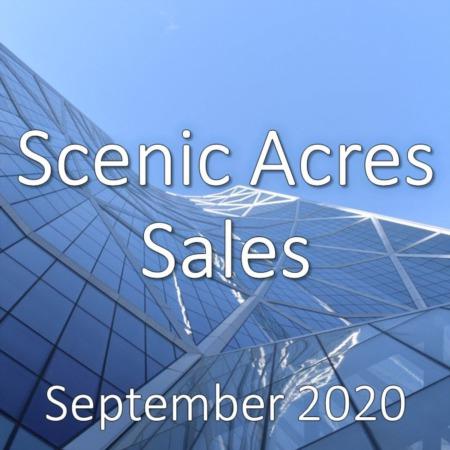 Scenic Acres Housing Market Update September 2020