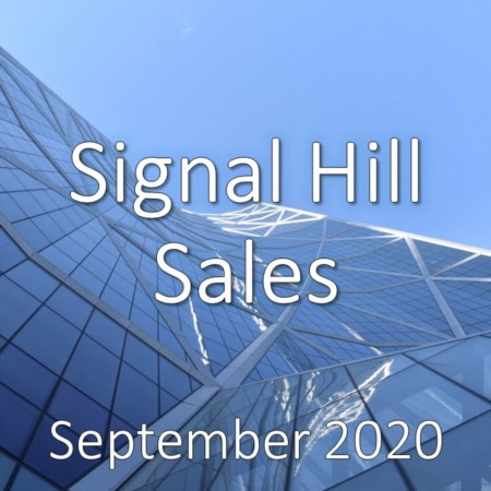 Signal Hill Housing Market Update September 2020