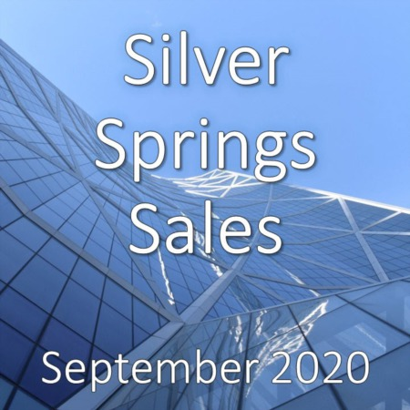 Silver Springs Housing Market Update September 2020
