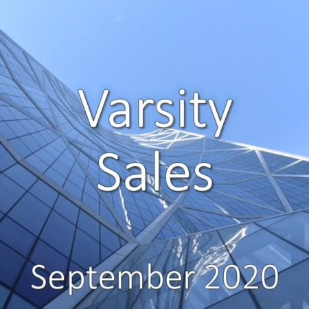Varsity Housing Market Update September 2020