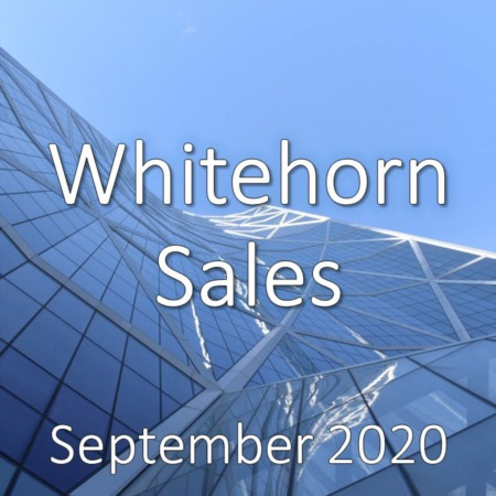 Whitehorn Housing Market Update September 2020