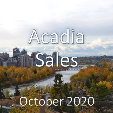 Acadia Housing Market Update October 2020