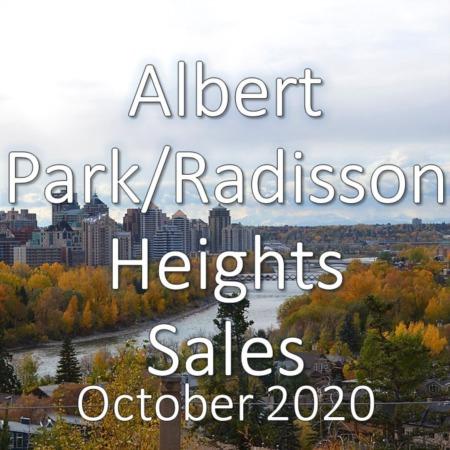 Albert Park/Raddison Heights Housing Market Update October 2020