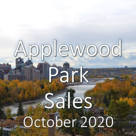 Applewood Park Housing Market Update October 2020
