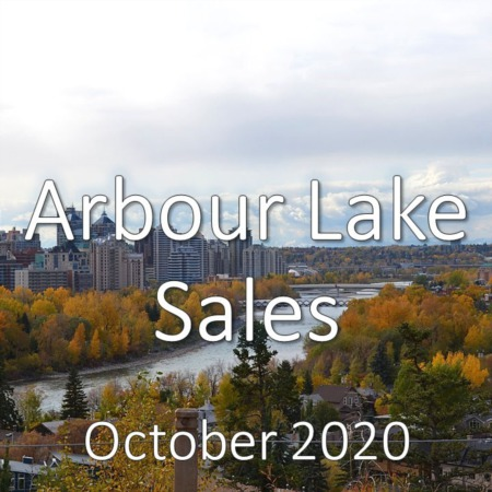 Arbour Lake Housing Market Update October 2020