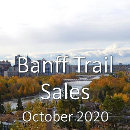 Banff Trail Housing Market Update October 2020