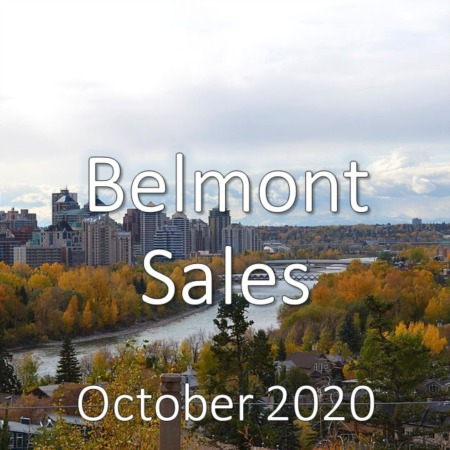 Belmont Housing Market Update October 2020