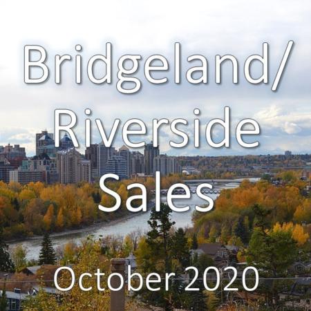 Bridgeland/Riverside Housing Market Update October 2020