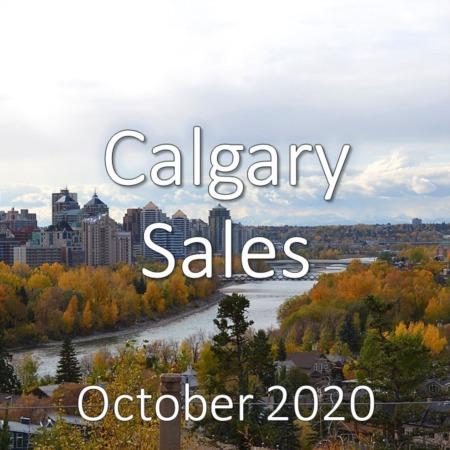 Calgary Housing Market Update October 2020