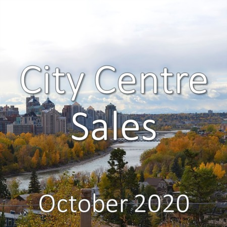 City Centre Housing Market Update October 2020