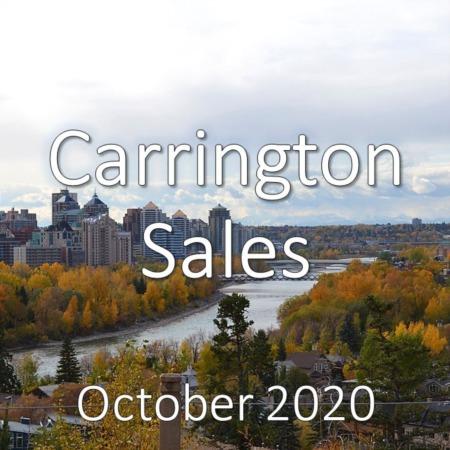 Carrington Housing Market Update October 2020