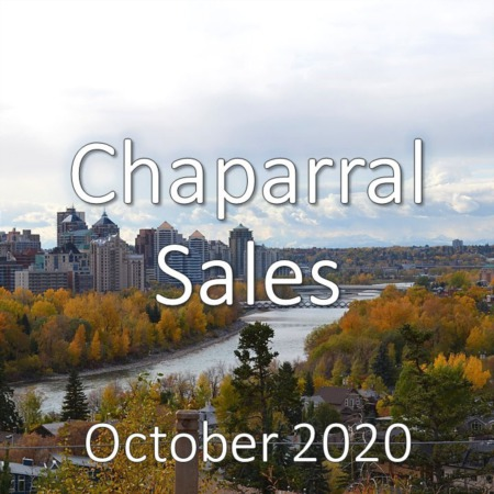 Chaparral Housing Market Update October 2020
