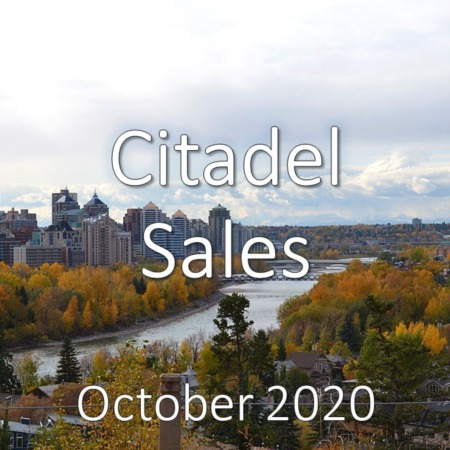 Citadel Housing Market Update October 2020