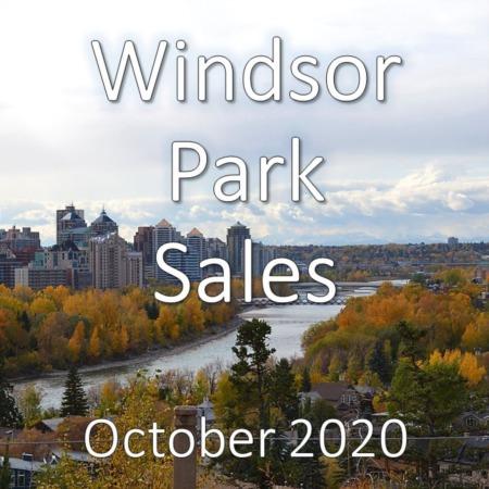 Windsor Park Housing Market Update October 2020
