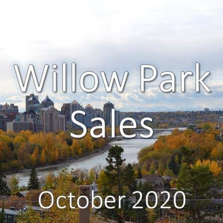 Willow Park Housing Market Update October 2020