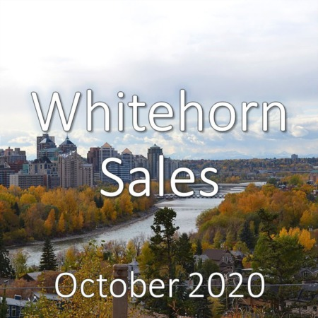Whitehorn Housing Market Update October 2020