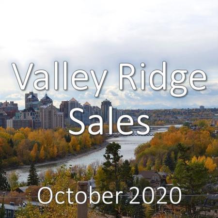 Valley Ridge Housing Market Update October 2020