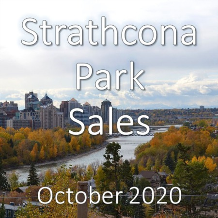 Strathcona Park Housing Market Update October 2020