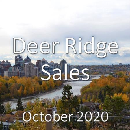 Deer Ridge Housing Market Update October 2020