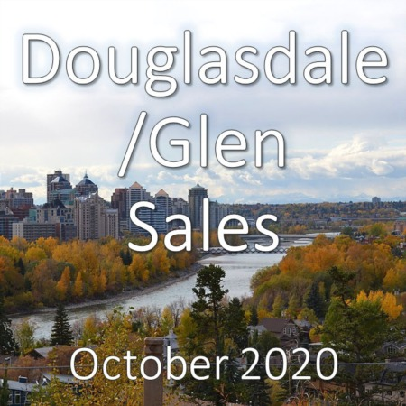 Douglasdale/Glen Housing Market Update October 2020