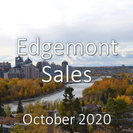 Edgemont Housing Market Update October 2020