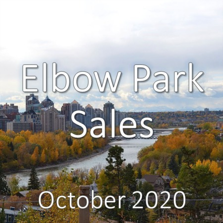 Elbow Park Housing Market Update October 2020