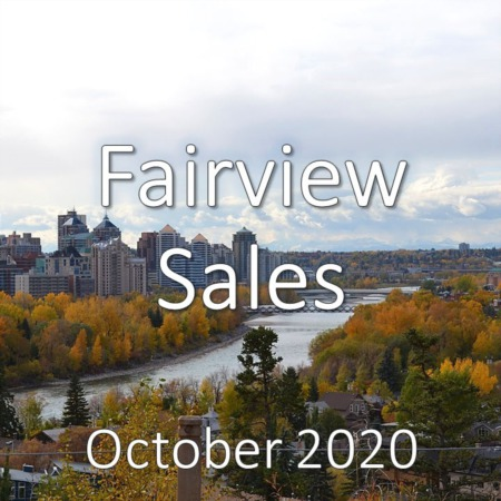 Fairview Housing Market Update October 2020