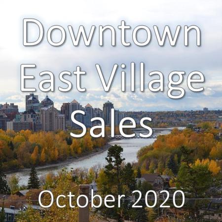 Downtown East Village Housing Market Update October 2020