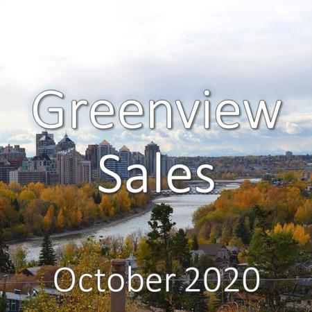 Greenview Housing Market Update October 2020