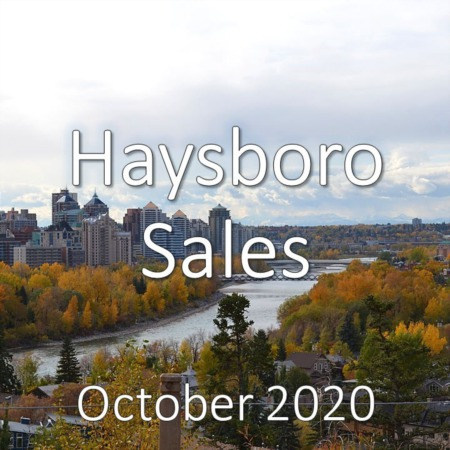 Haysboro Housing Market Update October 2020