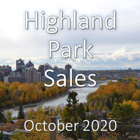Highland Park Housing Market Update October 2020