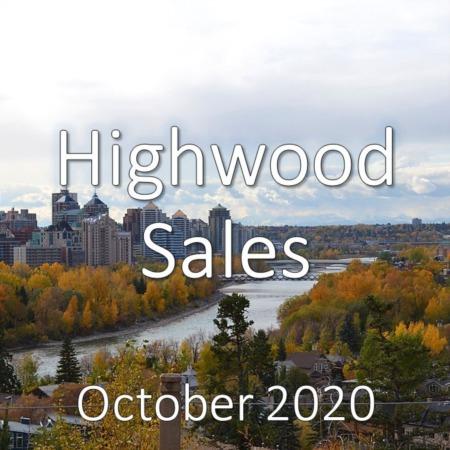 Highwood Housing Market Update October 2020