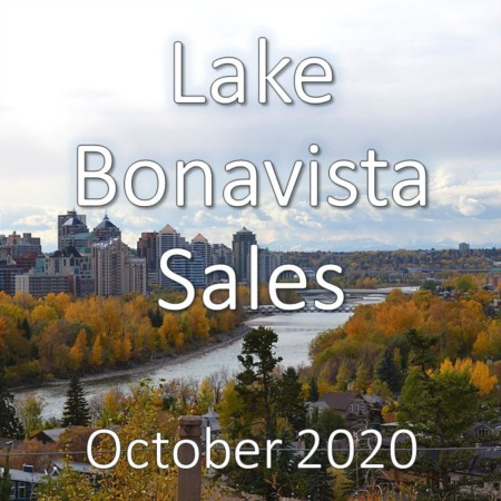 Lake Bonavista Housing Market Update October 2020