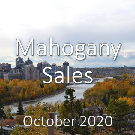 Mahogany Housing Market Update October 2020