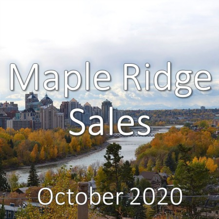 Maple Ridge Housing Market Update October 2020