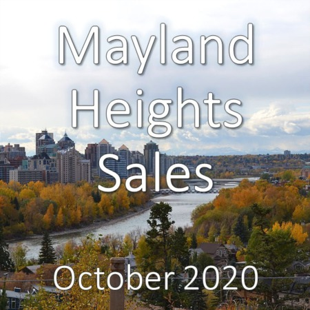 Mayland Heights Housing Market Update October 2020