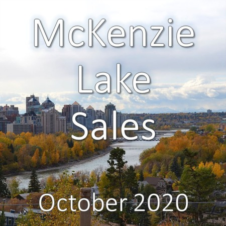 McKenzie Lake Housing Market Update October 2020