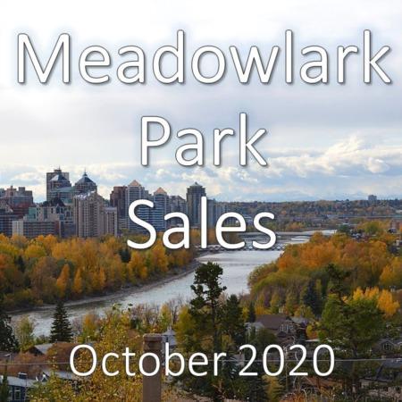 Meadowlark Park Housing Market Update October 2020