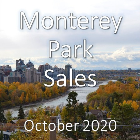 Monterey Park Housing Market Update October 2020
