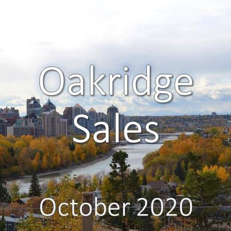 Oakridge Housing Market Update October 2020